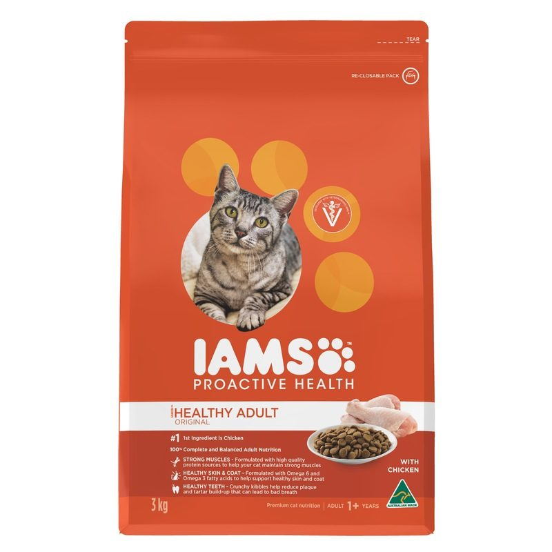 IAMS Adult Cat Chicken 3kg 1