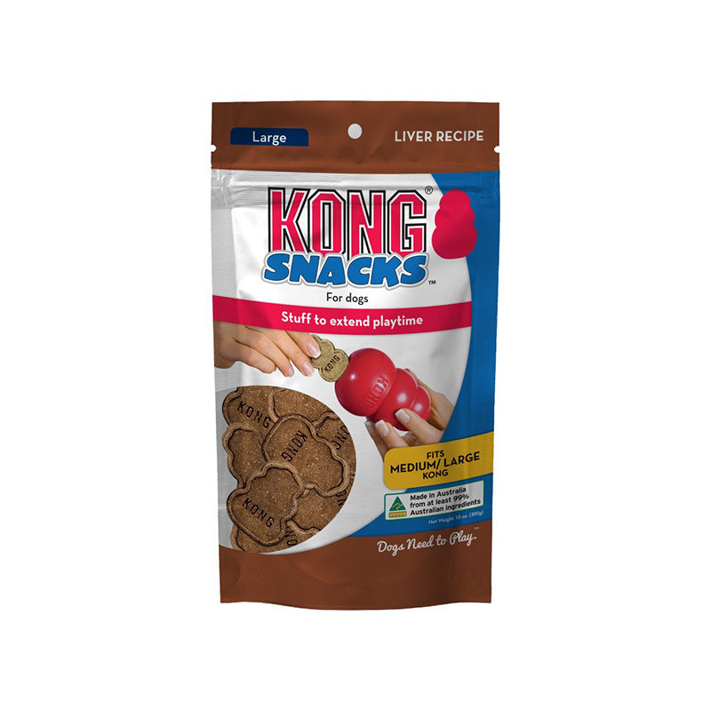 Kong Snacks for Dogs Liver Recipe Large 300g 1