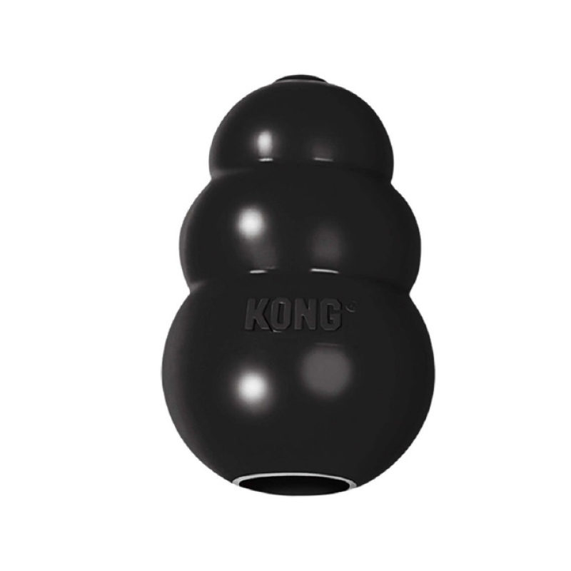 Kong Extreme Black Rubber Dog Toy Large 1
