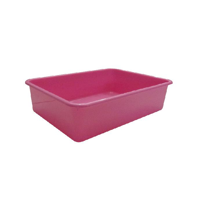 K-9 Homes Deep Cat Litter Tray - Pink 1