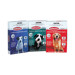 NuHeart Soluble Tablets for Dogs (23-45kg) - 40 Pack 1