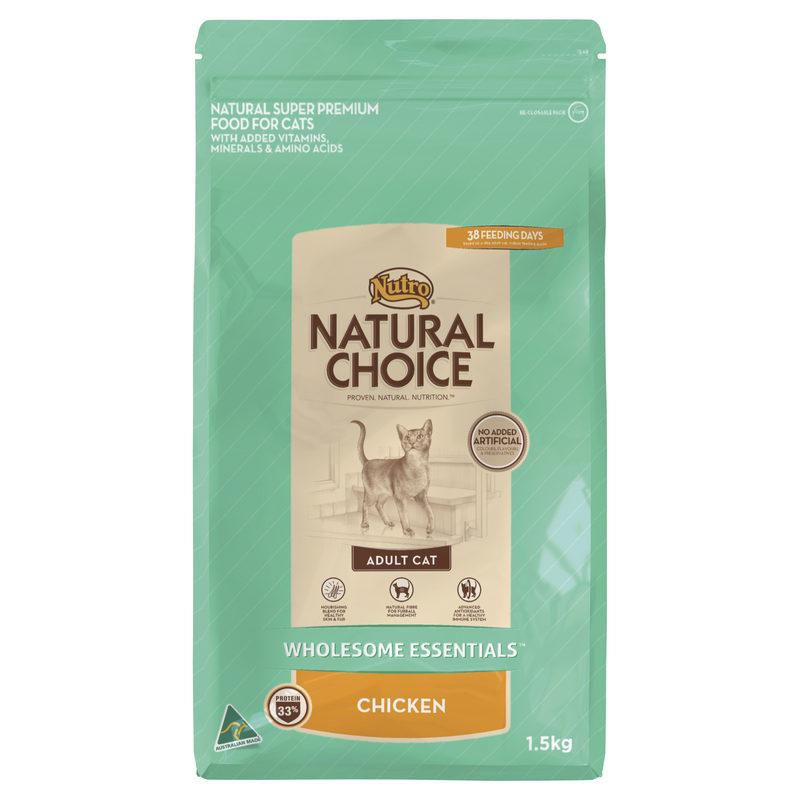 Nutro Wholesome Essentials Adult Cat Chicken 1.5kg 1