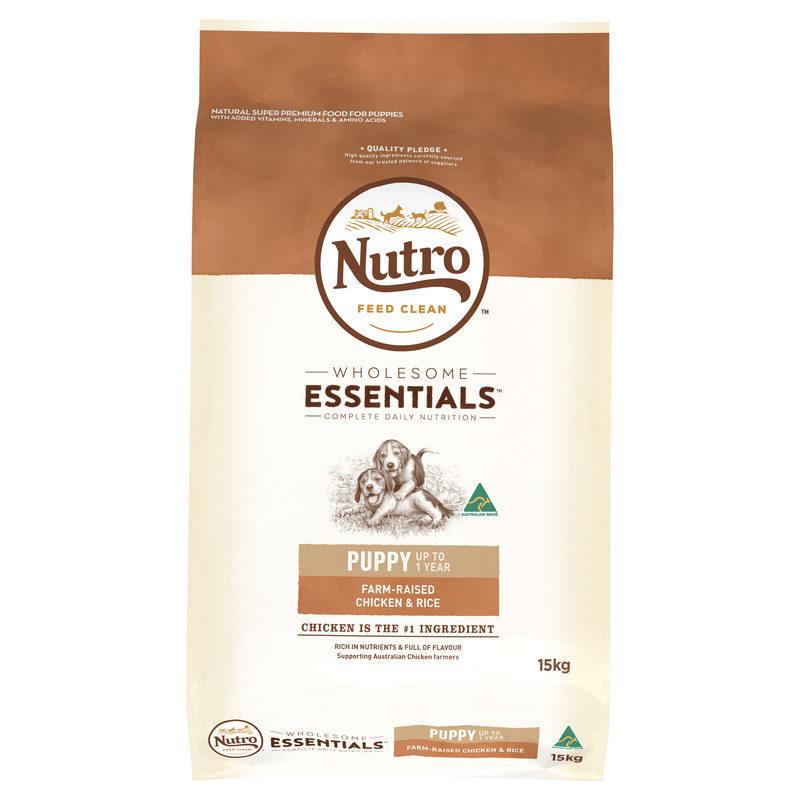 Nutro Wholesome Essentials Puppy Chicken & Rice 15kg 1