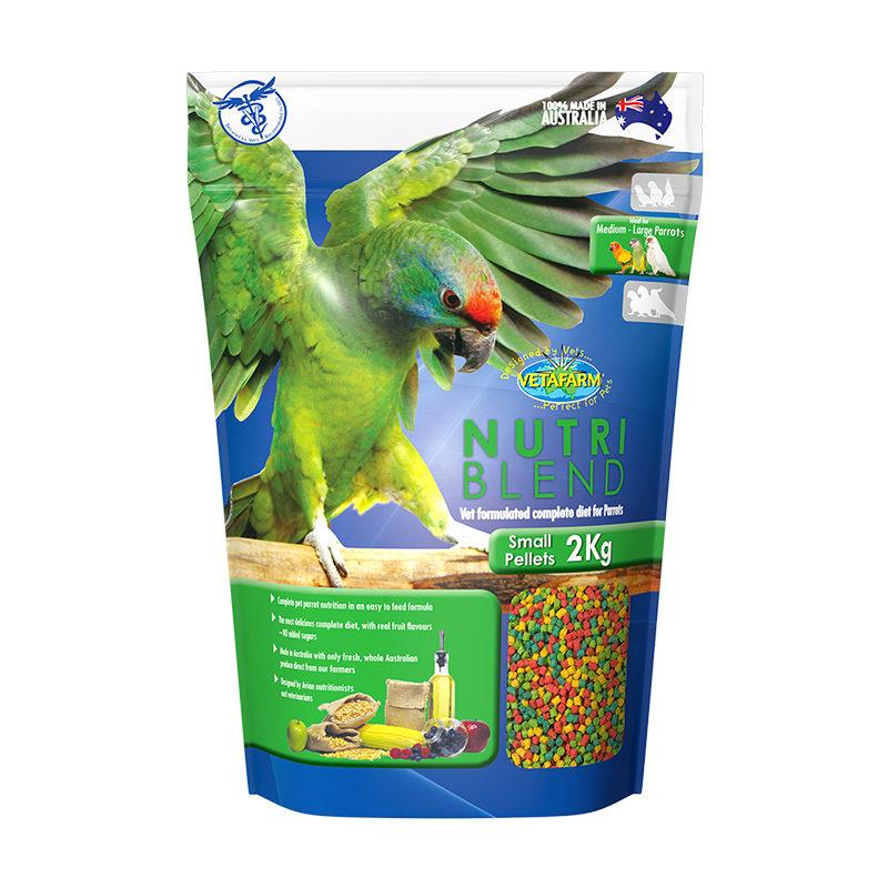 Vetafarm Nutriblend Small Parrot Pellets 2kg