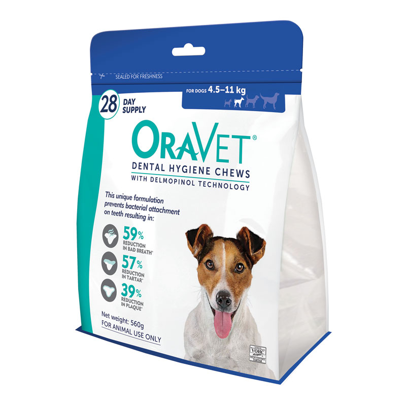 OraVet Dental Chews for Small Dogs - 28 Pack 1