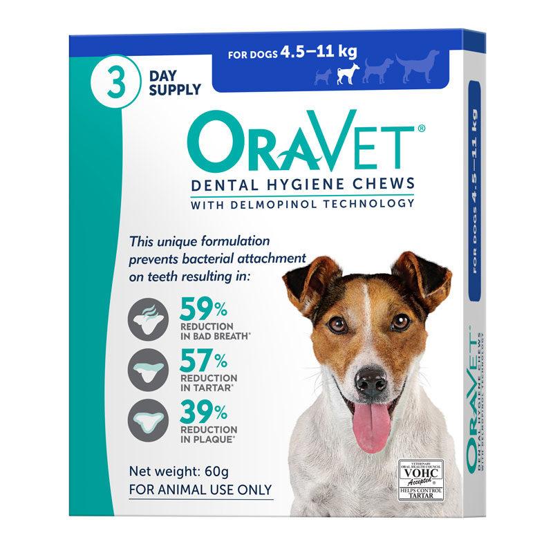 OraVet Dental Chews for Small Dogs - 3 Pack 1
