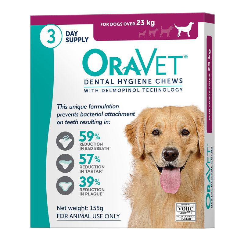 OraVet Dental Chews for Large Dogs -3 Pack 1