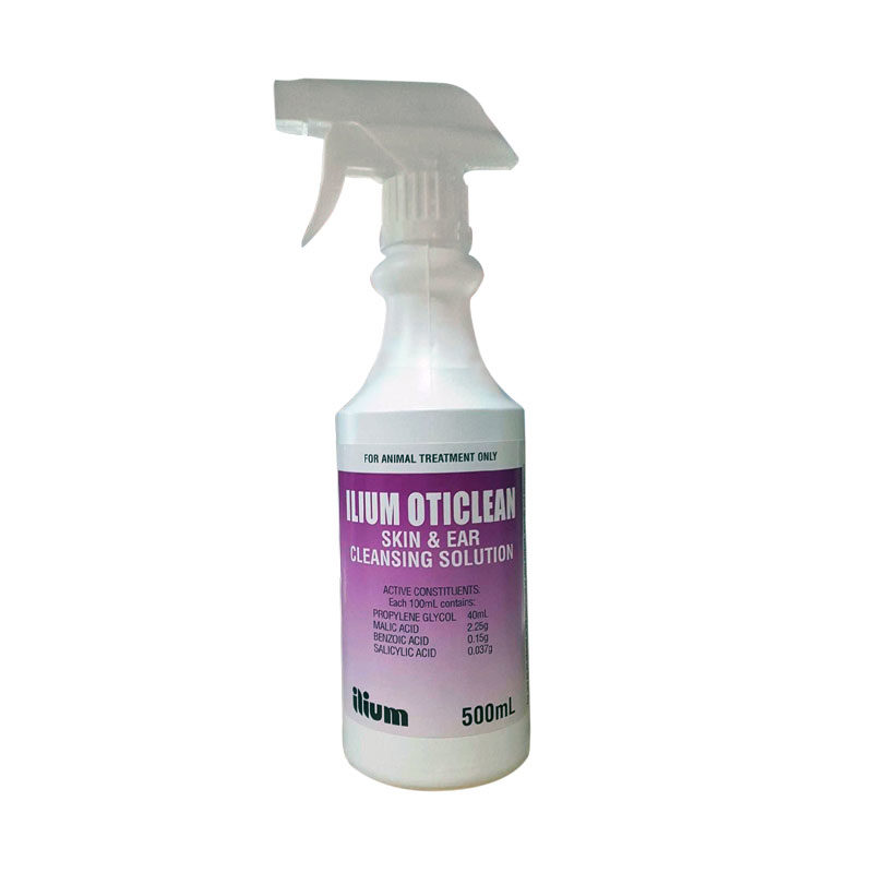 Oticlean Skin & Ear Cleansing Solution 500ml Spray 1