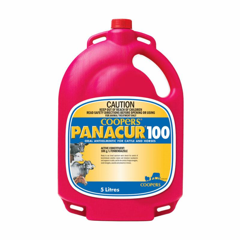 Coopers Panacur 100 (10%) 5L 1