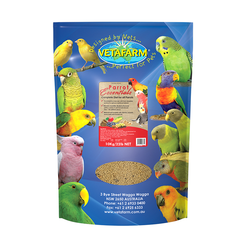 Vetafarm Parrot Essentials 10kg