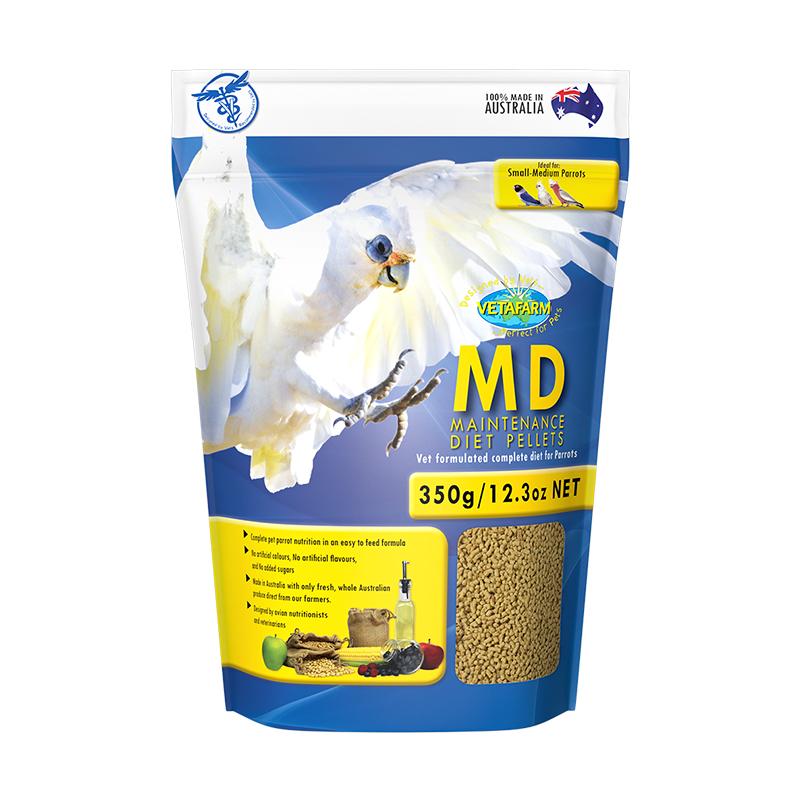 Vetafarm Parrot Maintenance Diet Pellets 350g