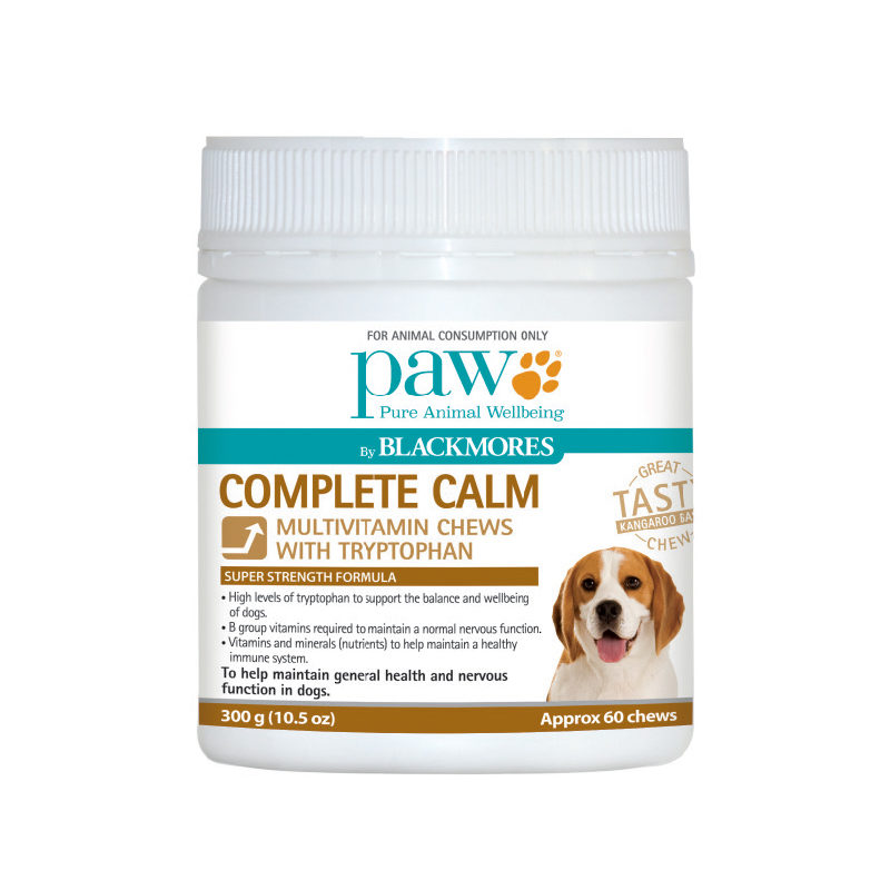 PAW Complete Calm Multivitamin Chews for Dogs 200g