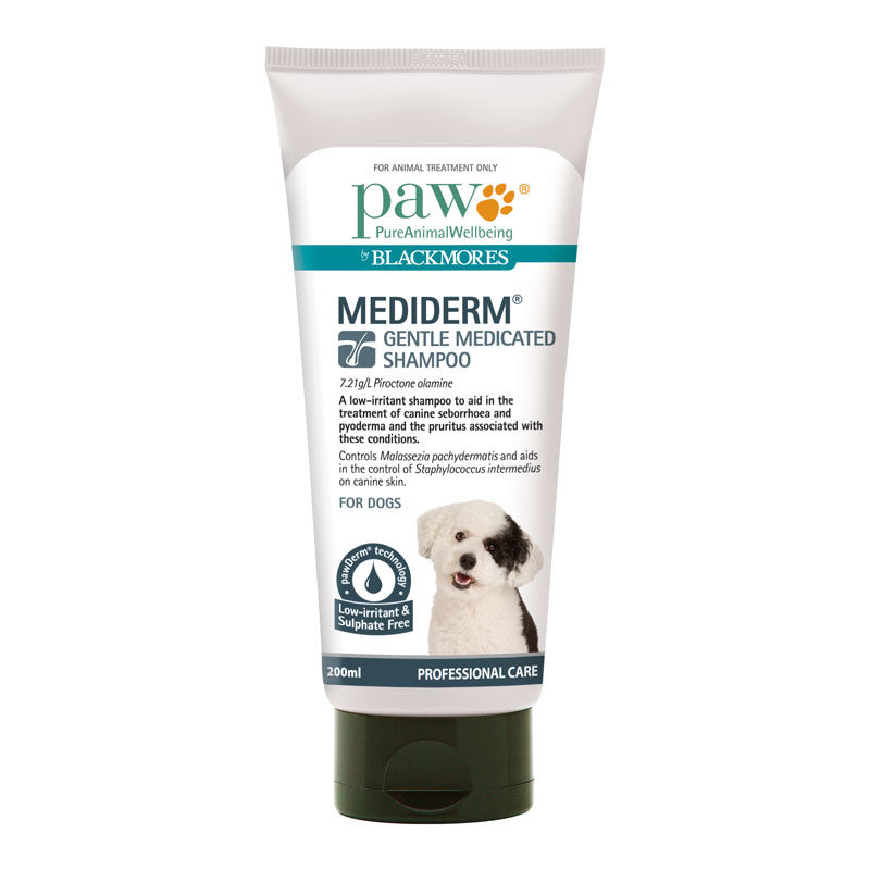 PAW MediDerm Gentle Medicated Shampoo 200ml 1