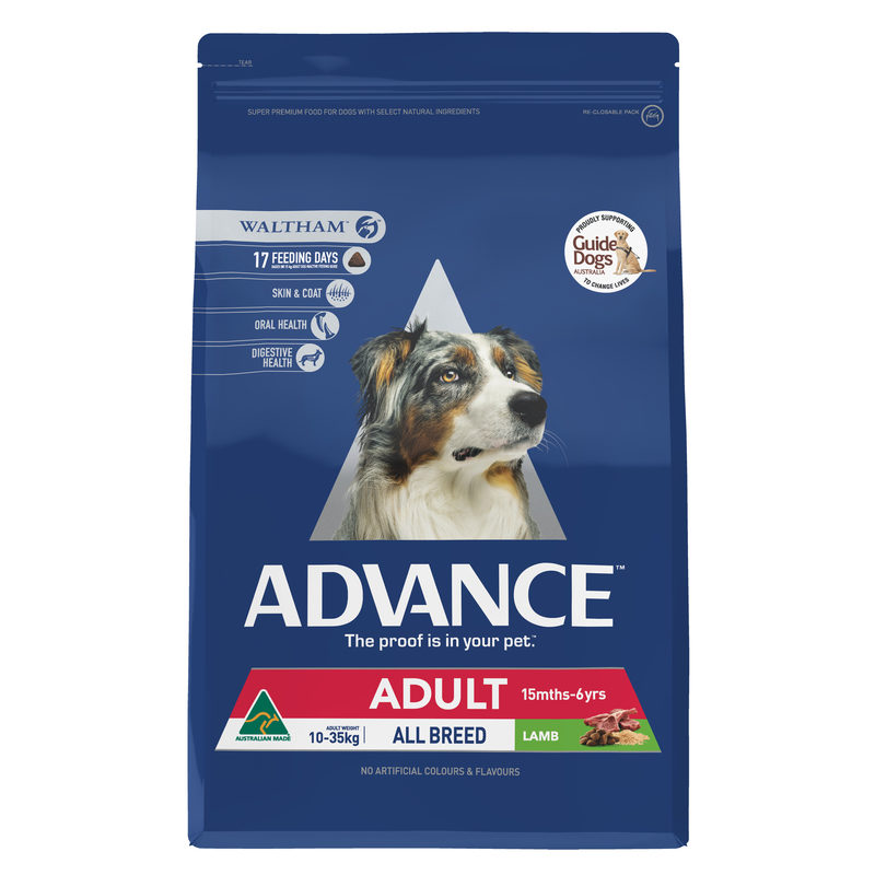 Advance Adult Dog Total Wellbeing All Breed Lamb 3kg 1