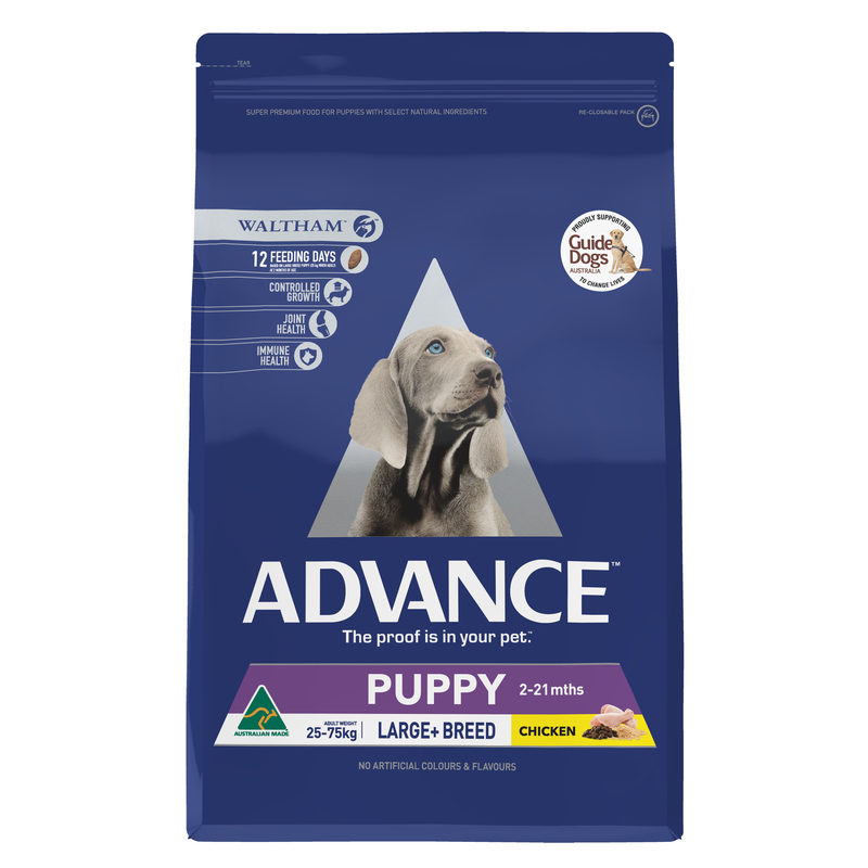 Advance Puppy Plus Growth Large+ Breed Chicken 3kg 1