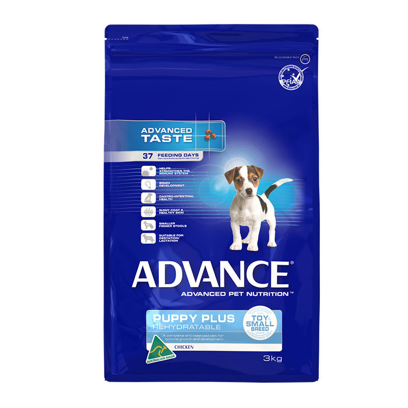 Advance Puppy Plus Rehydratable Toy & Small Breed Chicken 3kg 1