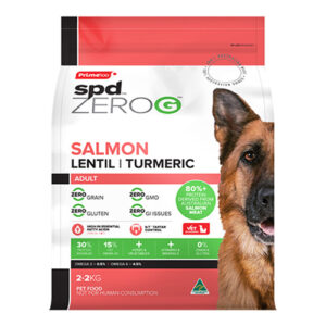 Prime100 SPD ZeroG Adult Dog Salmon