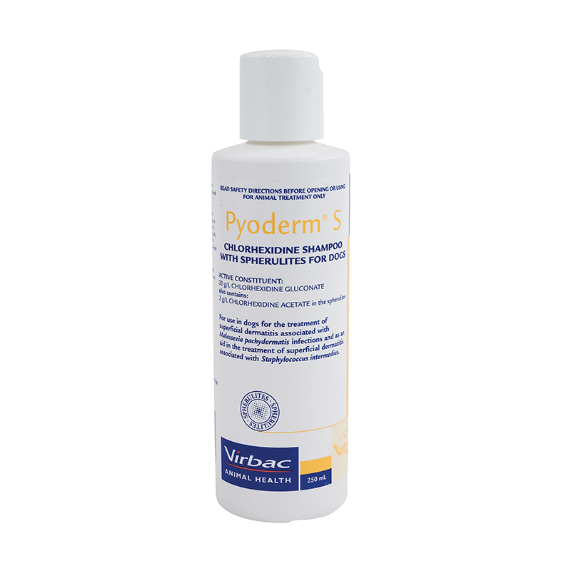 Pyoderm S Medicated Shampoo for Dogs