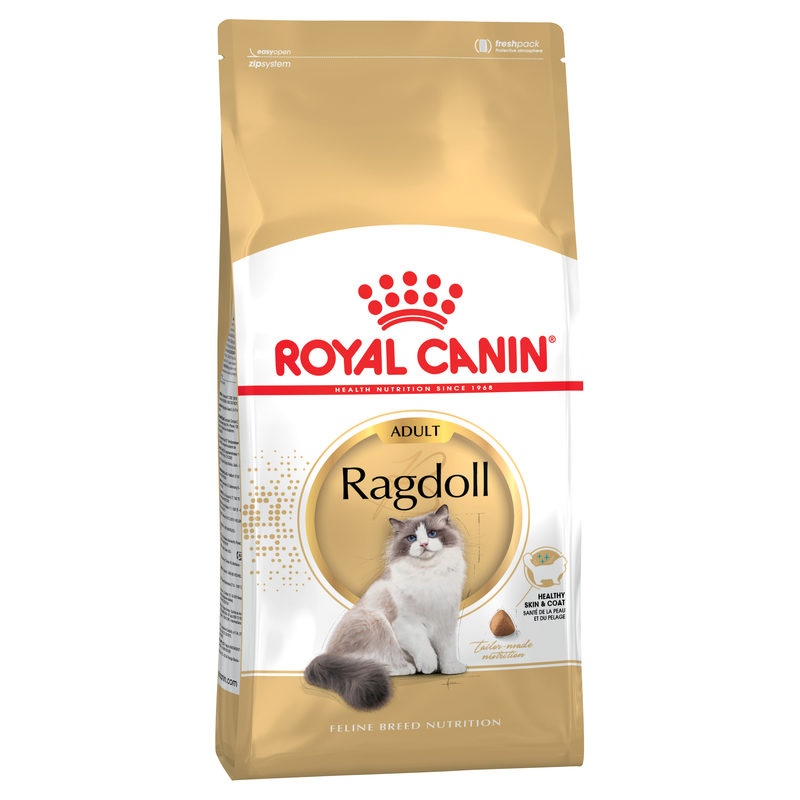 Royal Canin Feline Breed Nutrition Ragdoll Adult 2kg 1