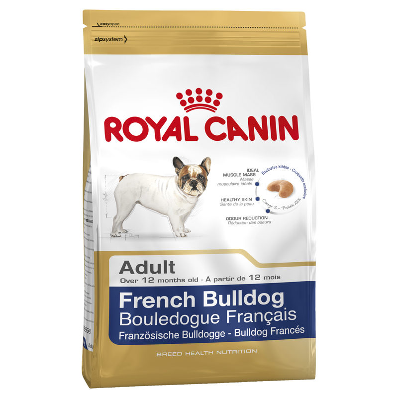 Royal Canin Breed Health Nutrition French Bulldog Adult 3kg 1