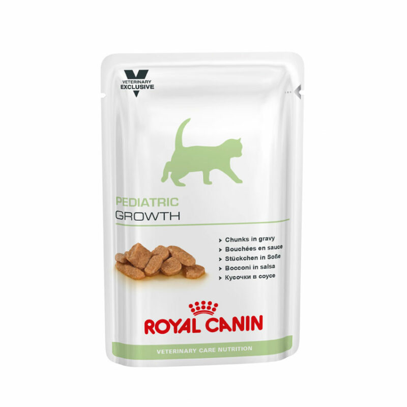 Royal Canin Vet Care Nutrition Feline Paediatric Growth 100g x 12 Pouches 1