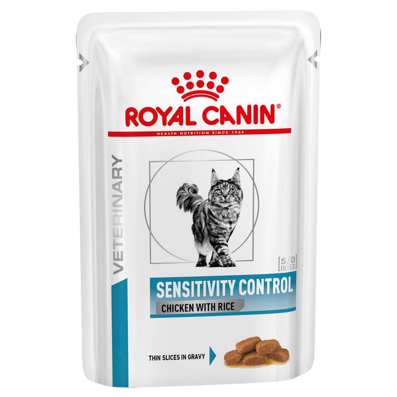 Royal Canin Vet Diet Feline Sensitivity Control 85g x 12 Pouches 1