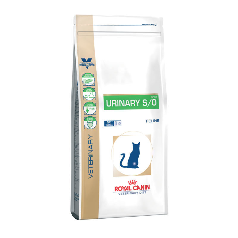 Royal Canin Vet Diet Feline Urinary S/O 7kg 1
