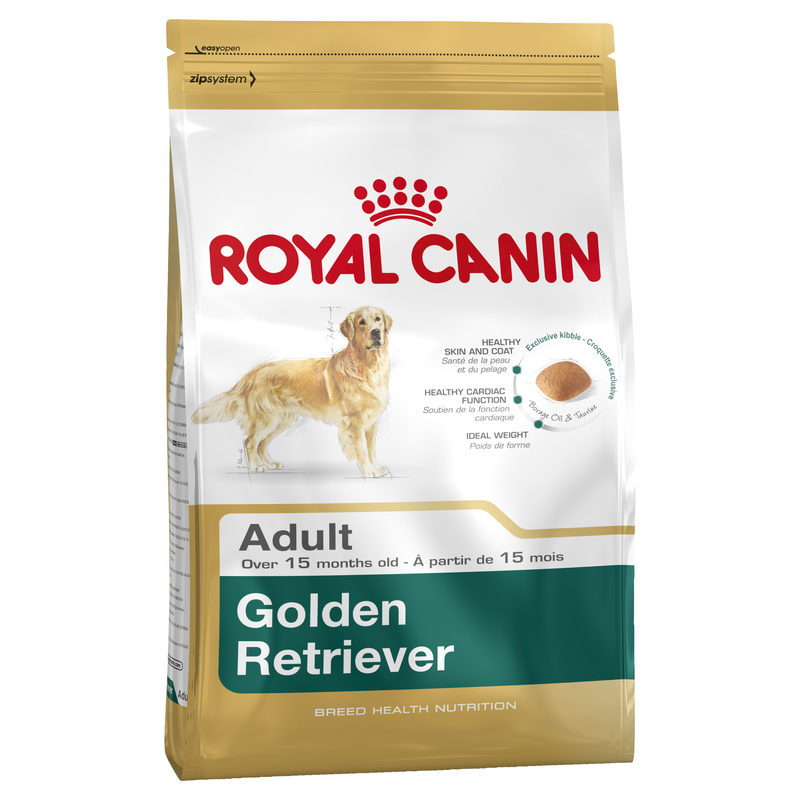 Royal Canin Breed Health Nutrition Golden Retriever Adult 12kg 1