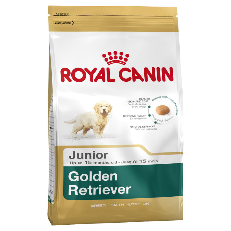 Royal Canin Breed Health Nutrition Golden Retriever Junior 12kg 1