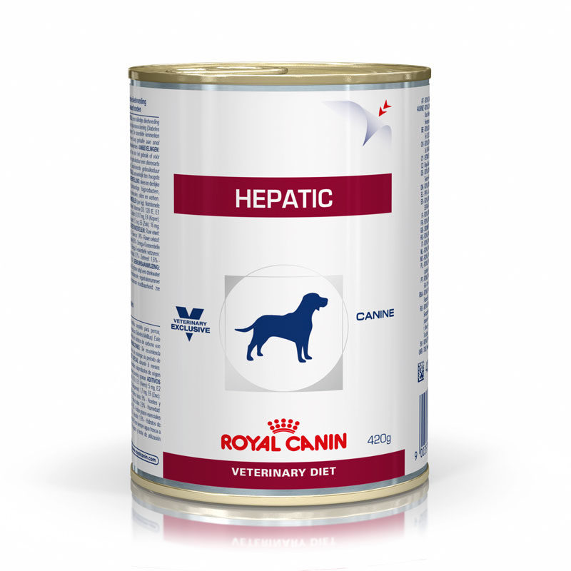 Royal Canin Vet Diet Canine Hepatic 420g x 12 Cans 1