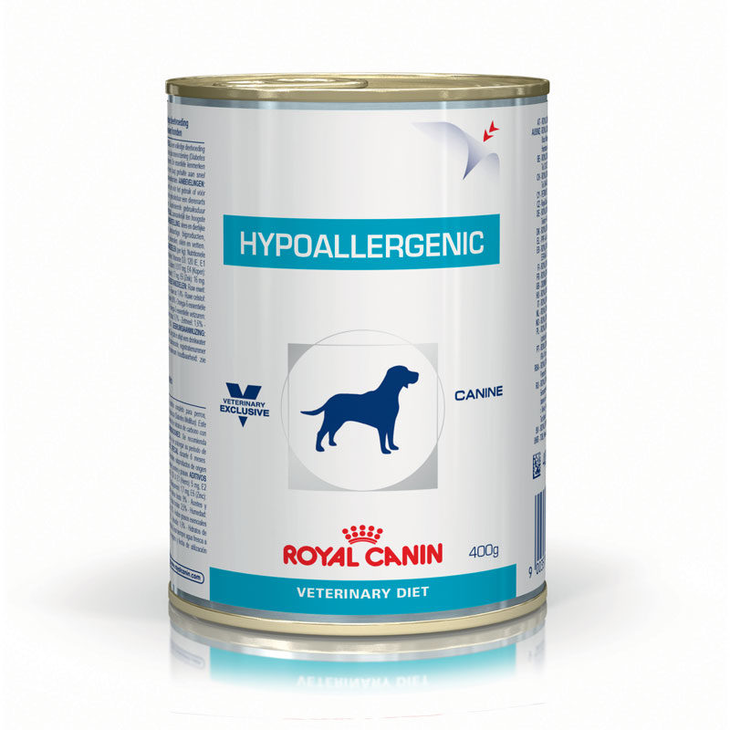 Royal Canin Vet Diet Canine Hypoallergenic 400g x 12 Cans 1