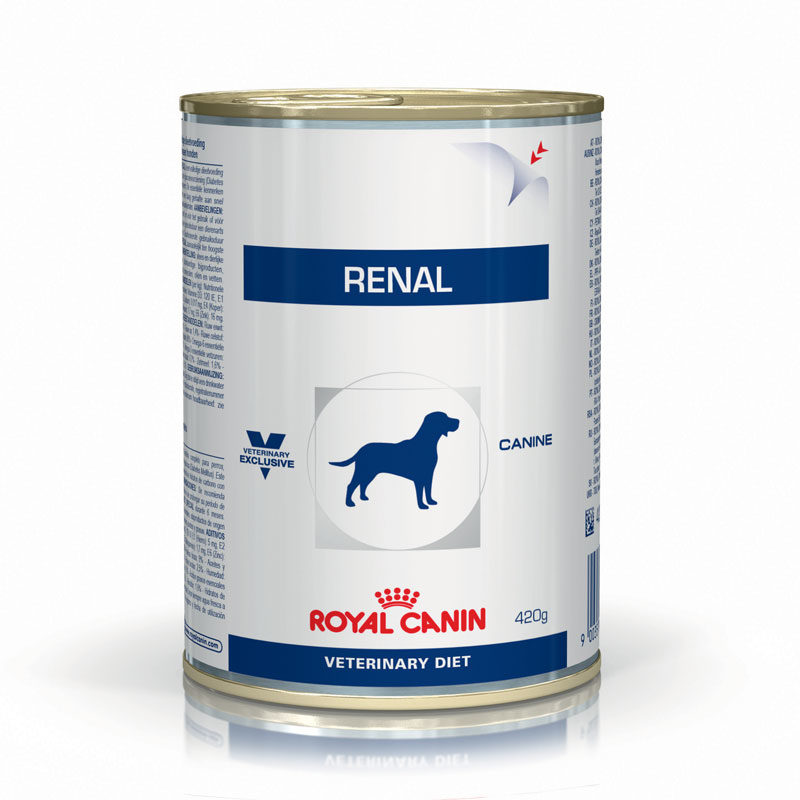 Royal Canin Vet Diet Canine Renal 420g x 12 Cans 1