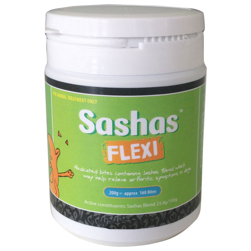 Sashas Flexi Joint Supplement Bites 200g 1