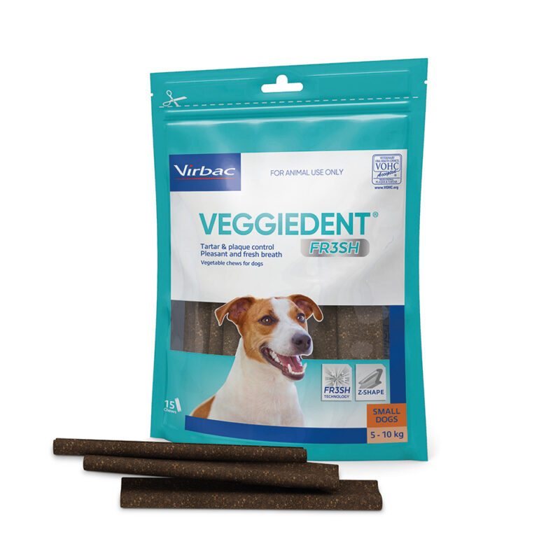 VeggieDent FR3SH Dental Chews for Small Dogs - 15 Pack 1