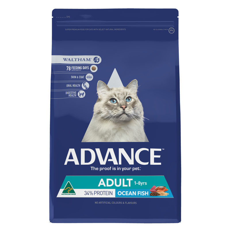 Advance Adult Cat Total Wellbeing Fish 3kg 1