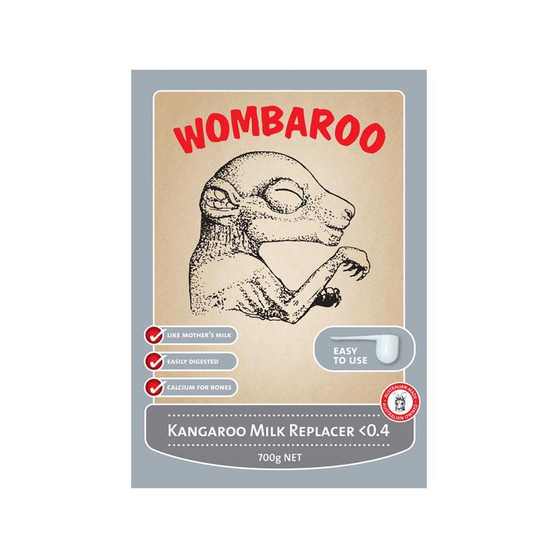 Wombaroo Kangaroo Milk Replacer <0.4 140g 1