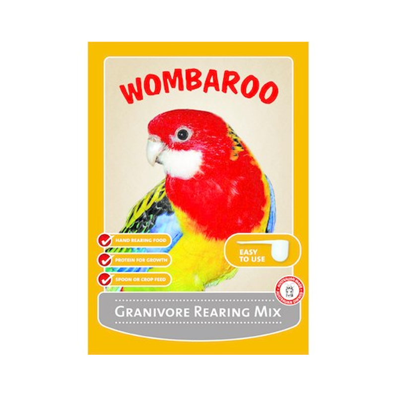 Wombaroo Granivore Rearing Mix 1kg