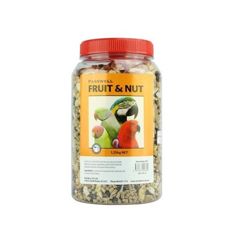 Wombaroo Fruit & Nut Bird Treat Mix 1.25kg