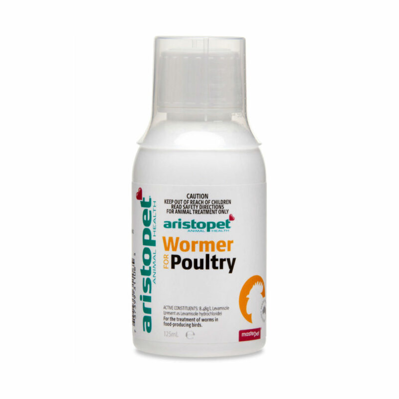 Aristopet Wormer for Poultry 125mL 1