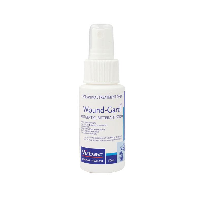 Wound-Gard Antiseptic Bitterant Spray 50ml 1