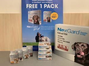 NexGard - get one month free 1